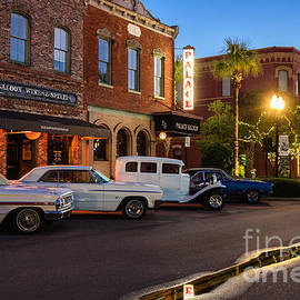 Dawna  Moore Photography - Amelia Cruizers Car Show at Twilight