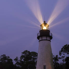 Dawna  Moore Photography - Amelia Island Light Fernandina Beach Florida