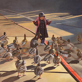 Thu Nguyen - Amelie-An and her ducks