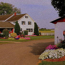 Mary Beth Landis - Amish Farm House