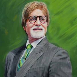 Dominique Amendola - Amitabh Bachchan Portrait 2