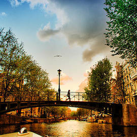 Andrei SKY - Amsterdam at sunset