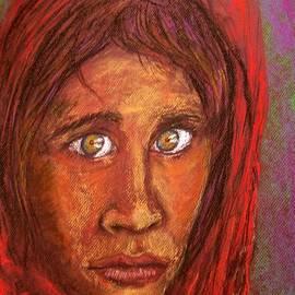 Joan-Violet Stretch - An Afghan Girl