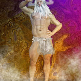 Joaquin Abella - Ancient god by Quim Abella