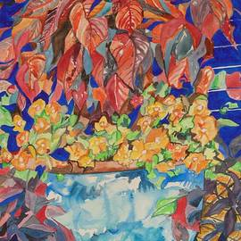 Esther Newman-Cohen - An Autumn Floral