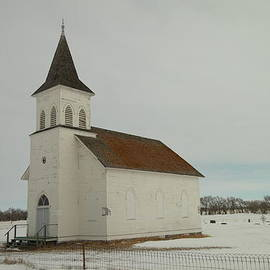 Jeff  Swan - An Old Church In North Dakota