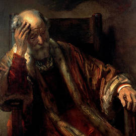 Celestial Images - An Old Man In An Armchair