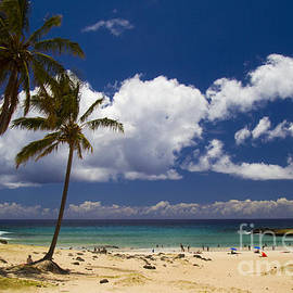 David Smith - Anakena Beach on Easter Island