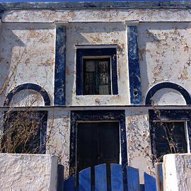 Colette V Hera  Guggenheim  - Ancient Old Santorini  ThirasiaHause