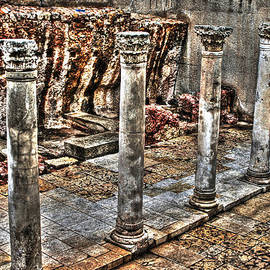 Michael Braham - Ancient Roman Columns in Israel