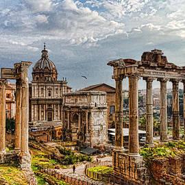 Georgia Mizuleva - Ancient Roman Forum Ruins - Impressions Of Rome