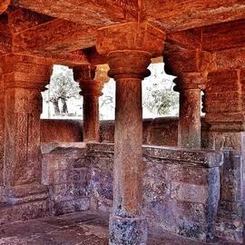 Kim Bemis - Ancient Stone Temple at Amarkantak India