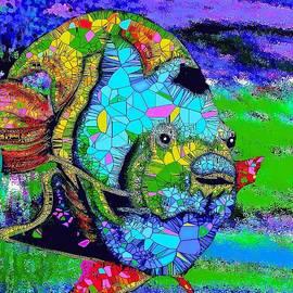 Saundra Myles - Angel Fish in a Deep Blue Sea