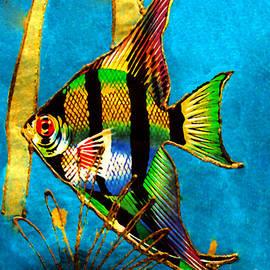 Merton Allen - Angel Fish - Watercolor Painting