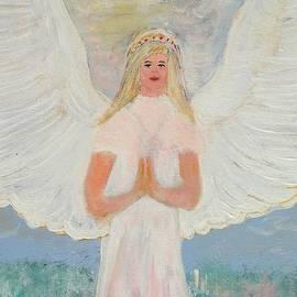 Karen J Jones - Angel in prayer