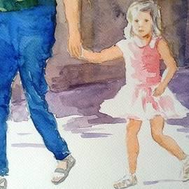 Uma Krishnamoorthy - Angel out on a walk
