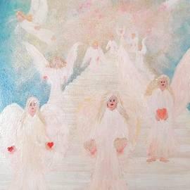 Karen J Jones - Angel stairway