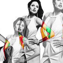 Dominique Amendola - Angelina jolie a la Warhol