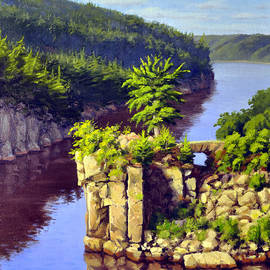 Rick Hansen - Angle Rock St Croix River