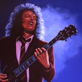 Paul Meijering - Angus Young of AC / DC