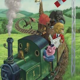 Martin Davey - Animal Train Journey