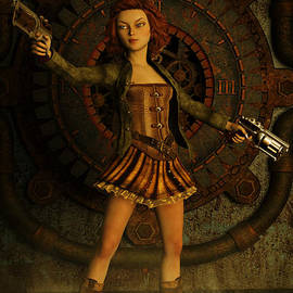 Liam Liberty - Anime Steampunk Girl