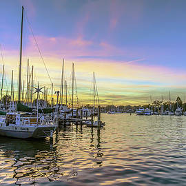 Brian Wallace - Annapolis City Marina Sunset