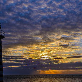 Marty Saccone - Another Sunrise at West Quoddy Head Lighthouse