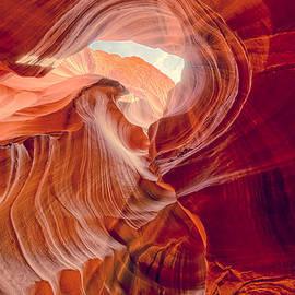 Silvio Ligutti - Antelope Canyon Navajo Nation Page Arizona Weeping Warrior