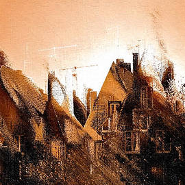 Barbara D Richards - Antennae and Roofs