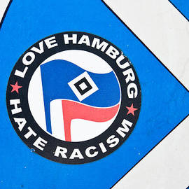 Tom Gowanlock - Anti-racism sticker