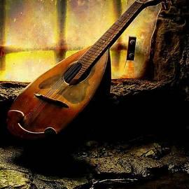 Anne Macdonald - Antique Mandolin In The Castle Window