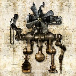 Diuno Ashlee - Antique mechanical figure