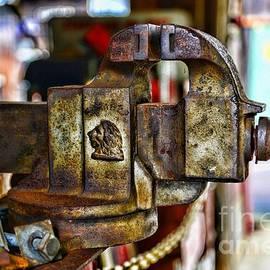 Paul Ward - Antique Monarch Cast Iron Bench Vise