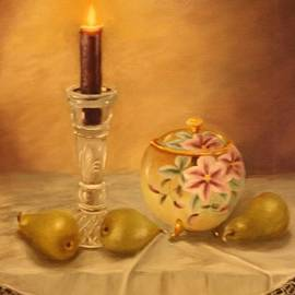 Lou Magoncia - Antique Nippon in Candle Light