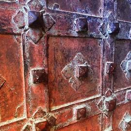Sue Jacobi - Antique Ornate Doorway Mehrangarh Fort India Rajasthan
