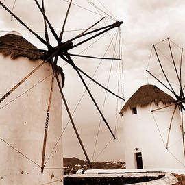 Brenda Kean - Antique style windmills