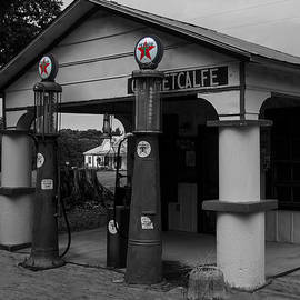 Chris Flees - Antique Texaco Visible gas pumps
