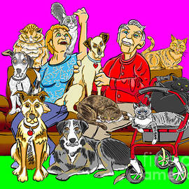 Joe King - Antonow Family Portrait