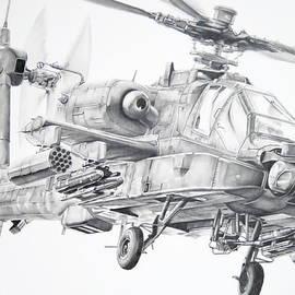 James Baldwin Aviation Art - Apache
