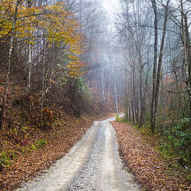 Debra and Dave Vanderlaan - Appalachian Trail into the Fog