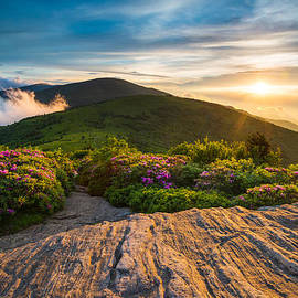 Dave Allen - Appalachian Trail Sunset North Carolina Landscape Photography