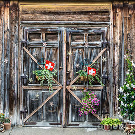 Gary Whitton - Appenzell Barn Door - Switzerland