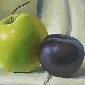 Peter Orrock - Apple and plum