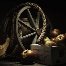 Tom Mc Nemar - Apple Basket Still Life