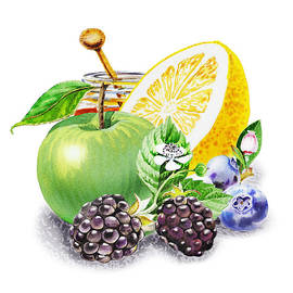 Irina Sztukowski - Apple Orange And Berries