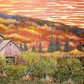 Brian Mickey - Apple Orchard Sunset