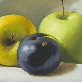 Peter Orrock - Apples and plum