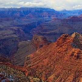 Chris Harman - Approaching snowstorm Grand Canyon