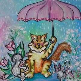 Leslie Manley - April Showers